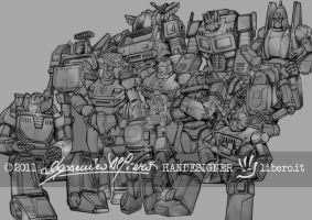 AUTOBOT - AFTER THE BATTLE by handesigner
