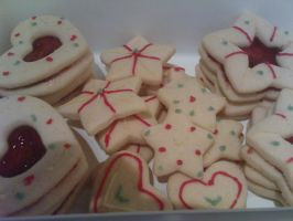 cookies for my aunts bday... by snaplilly