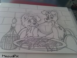 The Lady and The Tramp II by Maudpx