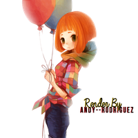 Girl Render by Andy--Rodriguez