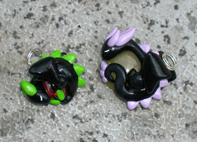 Little Dragon Charms by KingMelissa
