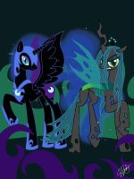 Villainesses by o0VinylScratch0o