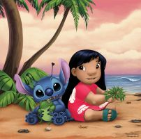 Lilo and Stitch by Diablera