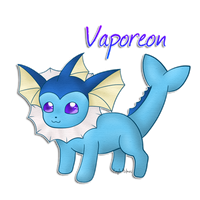 Vaporeon by 1nfinitize
