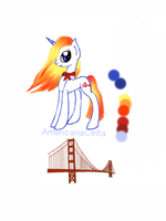 Golden Gate Bridge  MLP adoptable (closed) by AmericanaCelta
