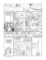 Penciled page 6 of Jacques Cartier... by PatBoutin