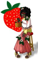 NTM Round 3: Strawberry Flowers by Prismativity