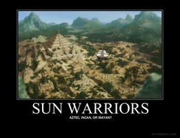 Sun Warriors - Demotivational by juanito316ss