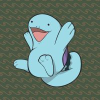 Happy as a Quagsire by Pinta