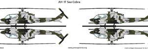 AH-1T Sea Cobra by BlastWaves