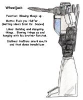 Wheeljack Bio by Scream01