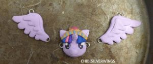 Twilight Necklace Alicorn Princess by ChibiSilverWings