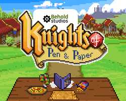 Knights of Pen and Paper by DUCKAZOID