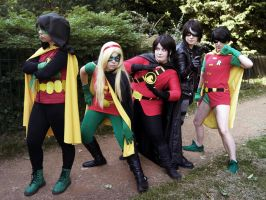 DC - Robins by CosplaysAssemble