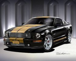 Shelby GT-H - Danny Whitfield by lovelife81