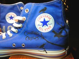 Noah's shoes: Counting Crows by MoulinRose