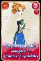 Ever After High: Peyton of Arendelle by KariaHearts56789