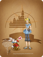 Disney steampunk: Alice by MecaniqueFairy