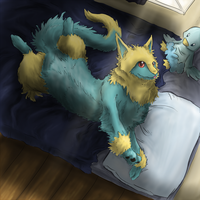 My bed by Yufika