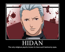 Hidan motivational poster by xDemonxAkumax