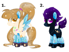 MFP Collab Adopts (0/2) CLOSED by mlpdarksparx