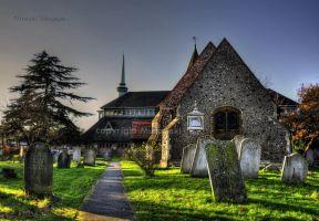 church , cmentary HDR by Murawski