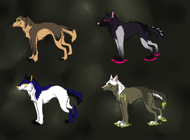 Wolf Adopts Batch by HiromiWolf