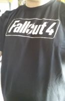 Fallout 4 T-shirt by Crystal-Eclair