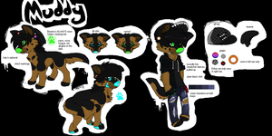 Muddy Reference sheet by MUDDii