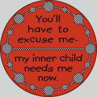 My Inner Child Button by raven-haven-creation