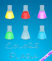 Colors Flask by Skynix