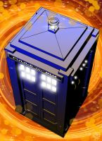 The Tardis by Kenpudiosaki