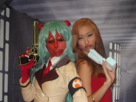 Panty and Scanty by ShinigamiN3ko