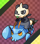 Clauncher and Pancham by MareckiRAWR