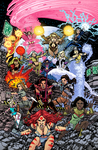 George Perez' SIRENS #3 Cover colors by sobreiro