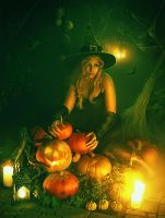 October Pumpkins by IvannaDark