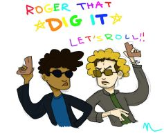 Almost Human: Dig It, Let's Roll by Fuqspace