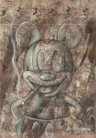 Mickey Mouse by cingram