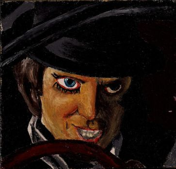 Alex from A Clockwork Orange by CaptainSeby