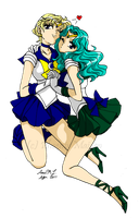 True Senshi Love by MissPhiMouse