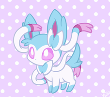 ~Shiny Sylveon~ by Mondlichtkatze