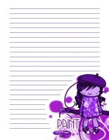 Artist Notebook Front Page by t0m0y04evr