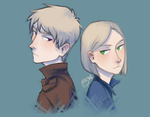 lookin at u over the shoulder bc im too cool for u by GrreenTea