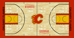 Calgary Flames Custom Court by S231995