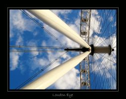 London  - London Eye by lux69aeterna