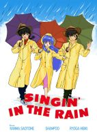 Ranma Singin' in the Rain by Wednesday2021