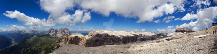 Dolomiti Panorama by clush