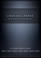 Lines Wallpaper Pack by renegadesoldier