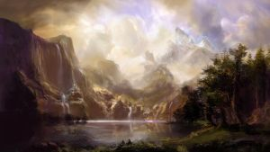 Master Study: Among the Sierra Nevada Mountains by Illustrum