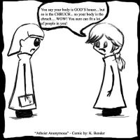 Atheist Anonymous Comic 7 by Devain